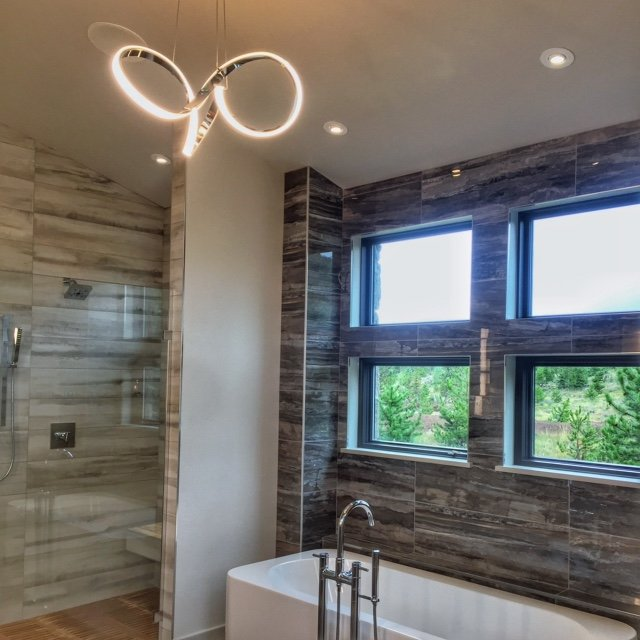 Modern Bathroom - Town of Frisco, CO - Home for Sale, Waterdance