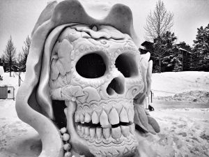 Breckenridge, Colorado - International Snow Sculpting Competition