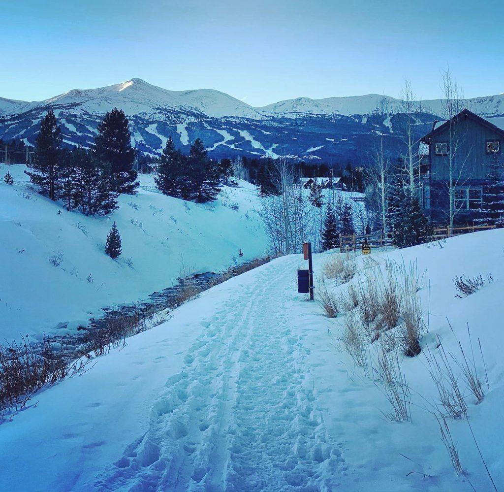 Breckenridge, Colorado Real Estate Market Opinion - Winter 2021 | Christmas Eve Neighborhood Ski Adventure